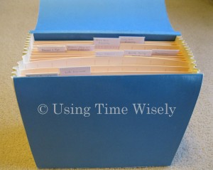 Insurance File - Box 2 of Important Documents