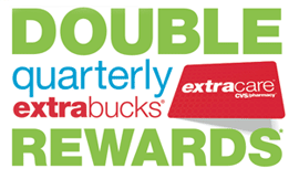 CVS double quarterly extra bucks